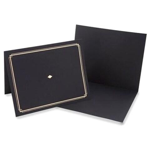 Black Certificate Holders (Pack of 6)