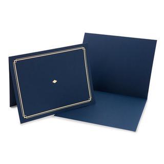 Blue Paper Award Certificate Holders (Pack of 6)