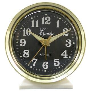 "Equity 12020 4"" Mini Bell Alarm Clock"