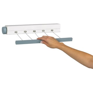 Household Essentials MD-61 5 Line Retractable Mini Clothesline Dryer