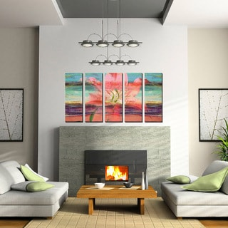 Ready2HangArt 'Painted Petals IX' 5-PC Canvas Art