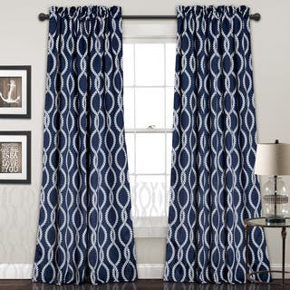 Lush Decor Rope Knot Room Darkening Window Curtain Panel Pair|https://ak1.ostkcdn.com/images/products/12924712/P19678337.jpg?impolicy=medium