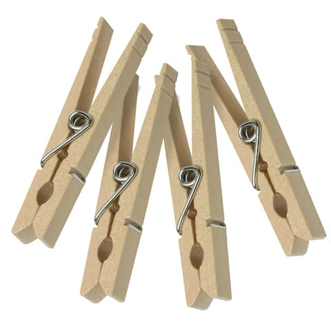 Honey Can Do DRY-01374 Wood Clothespins 24 Count