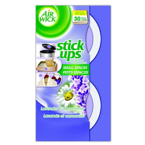 Air Wick 85825 Lavender & Chamomile Stick Ups Air Fresheners