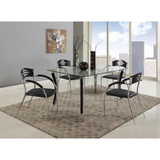 Christopher Knight Home Veronica Glass-top Dining Table