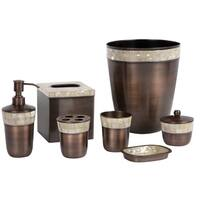 Opal Copper 7-Piece Bath Accessory Set