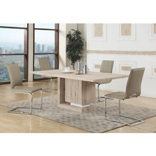 Christopher Knight Home Tasha Natural Veneer and MDF Dining Table