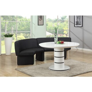 Christopher Knight Home Stevie Glossy Wood Dining Table