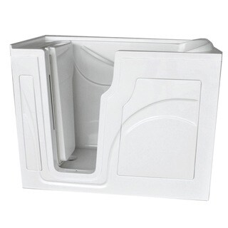 HealthSmart Washington Walk-in Safety Soaker Tub w/Left Handed Door