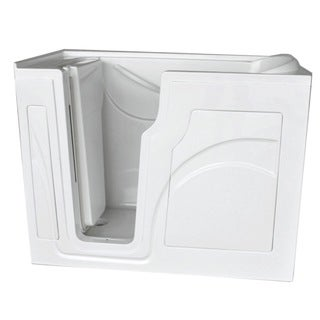 DISCONTINUED HealthSmart Washington Walk-in Safety Soaker Tub w/Left Handed Door