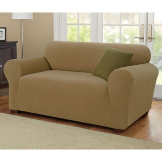 Sure Fit Stretch Pearson Knit Loveseat Cover