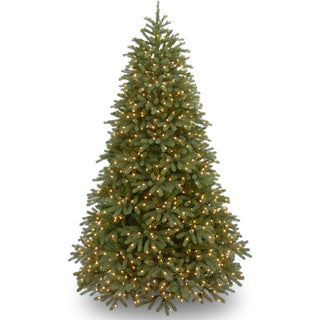 Jersey Fraser Fir 9-foot Artificial Christmas Tree with Dual Color LED Lights