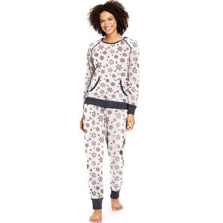 Hane's Women's Ultimate Micro Fleece PJ Set