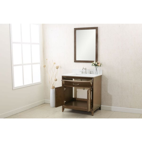 30 Bathroom Vanity Set By Legion Furniture legion furniture brown 3-piece bathroom vanity set - free shipping