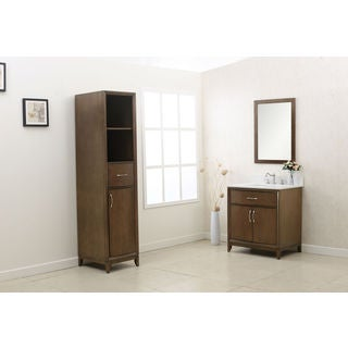 Legion Furniture Brown 3-piece Bathroom Vanity Set