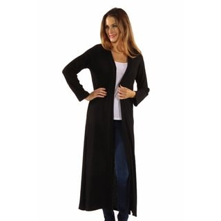 The Perfect 10 Soft Rib Black Cardigan Jacket