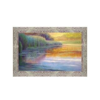 Framed Art - Autumn Pond by Susan Sarback