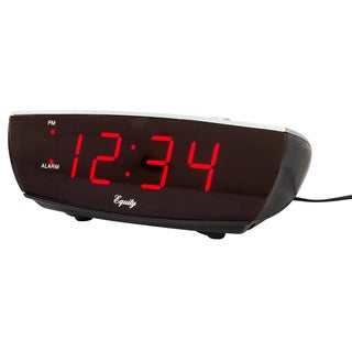 "Equity 75900 5.5"" Alarm Clock With Charging Port"