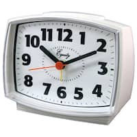 "Equity 33100 4 "" Electric Analog Alarm Clock"
