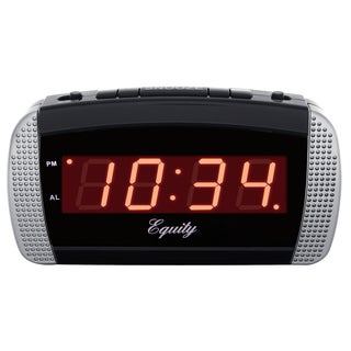 "Equity 30240 6"" Loud LED Alarm Clock"