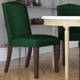 Skyline Furniture Emerald Fabric Arched Dining Chair