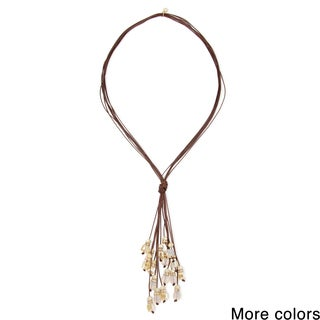 Saachi Dream Catcher Multi Strand Tassel Necklace (China)