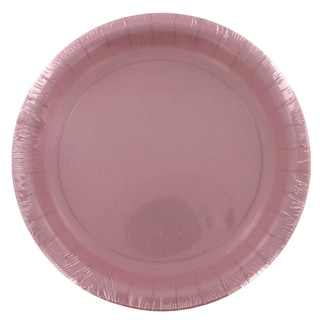 "Creative Converting 79158B 6.75"" Classic Pink Lunch Paper Plate 24 Count"