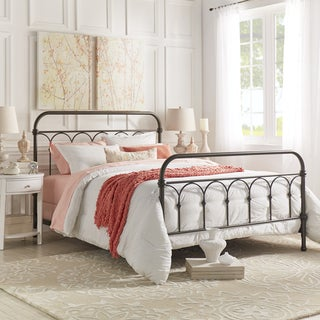 Mercer Casted Knot Metal Bed by TRIBECCA HOME