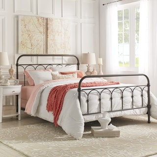 Wonderful Mercer Casted Knot Metal Bed By INSPIRE Q Classic
