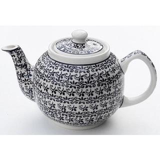 Handmade Stoneware Teapot (Poland)