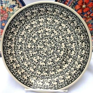 Stoneware Salad Plate (Poland)