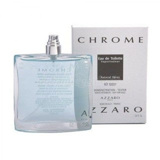 Azzaro Chrome United Men's 3.4-ounce Eau de Toilette Spray (Tester)