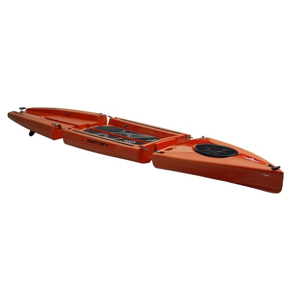 Point 65N Rum Runner Yellow and Orange Modular SUP Paddle Board