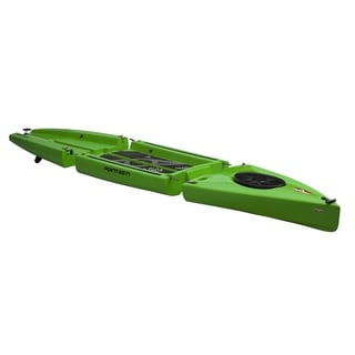 Point 65N Rum Runner 12.5-foot Lime Modular SUP Paddle Board
