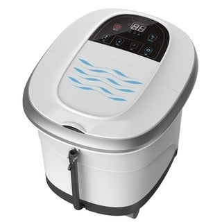 Prospera Pure Calf and Foot Spa, with Shiatsu Rolling Massage, Heat, Jets, Bubbles, Digital Time, and Temperature Control