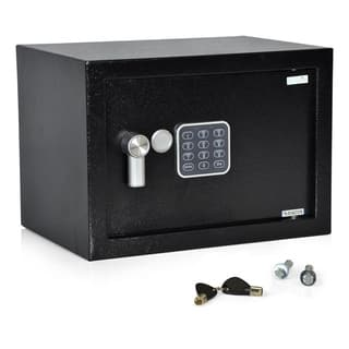 SereneLife SLSFE14 Steel Compact Electronic Safe Box With Mechanical Override and 2 Keys https://ak1.ostkcdn.com/images/products/12927607/P19680973.jpg?impolicy=medium