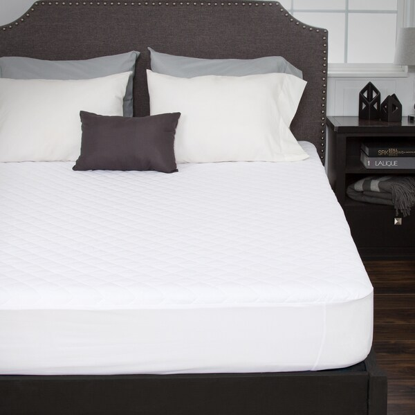 Windsor Home Waterproof Mattress Pad w/Expandable Fitted Skirt