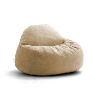 FufSack Big Joe Lux Chillum Textured Memory Foam Bean Bag Chair
