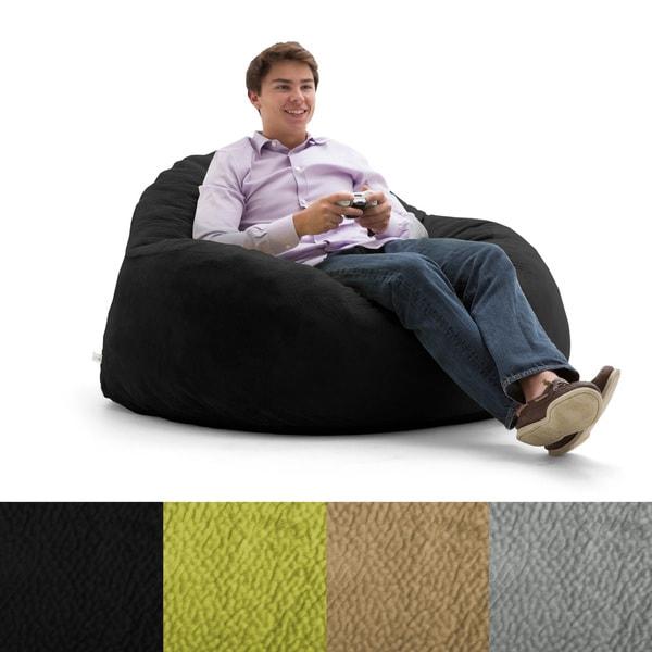 Fufsack Big Joe Lux Chillum Textured Memory Foam Bean Bag