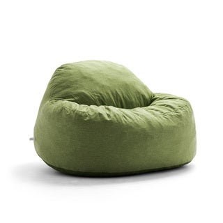 FufSack Big Joe Lux Chillum Solid-colored Polyester Memory Foam Bag Chair