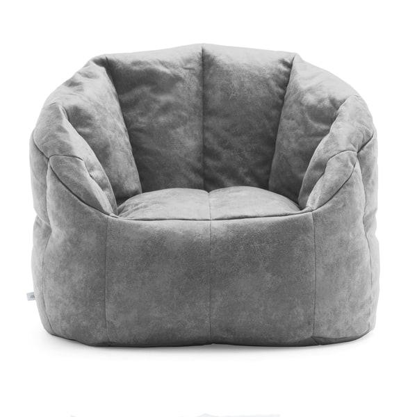 Pleasant Shop Big Joe Lux Large Milano Blazer Bean Bag Chair Machost Co Dining Chair Design Ideas Machostcouk