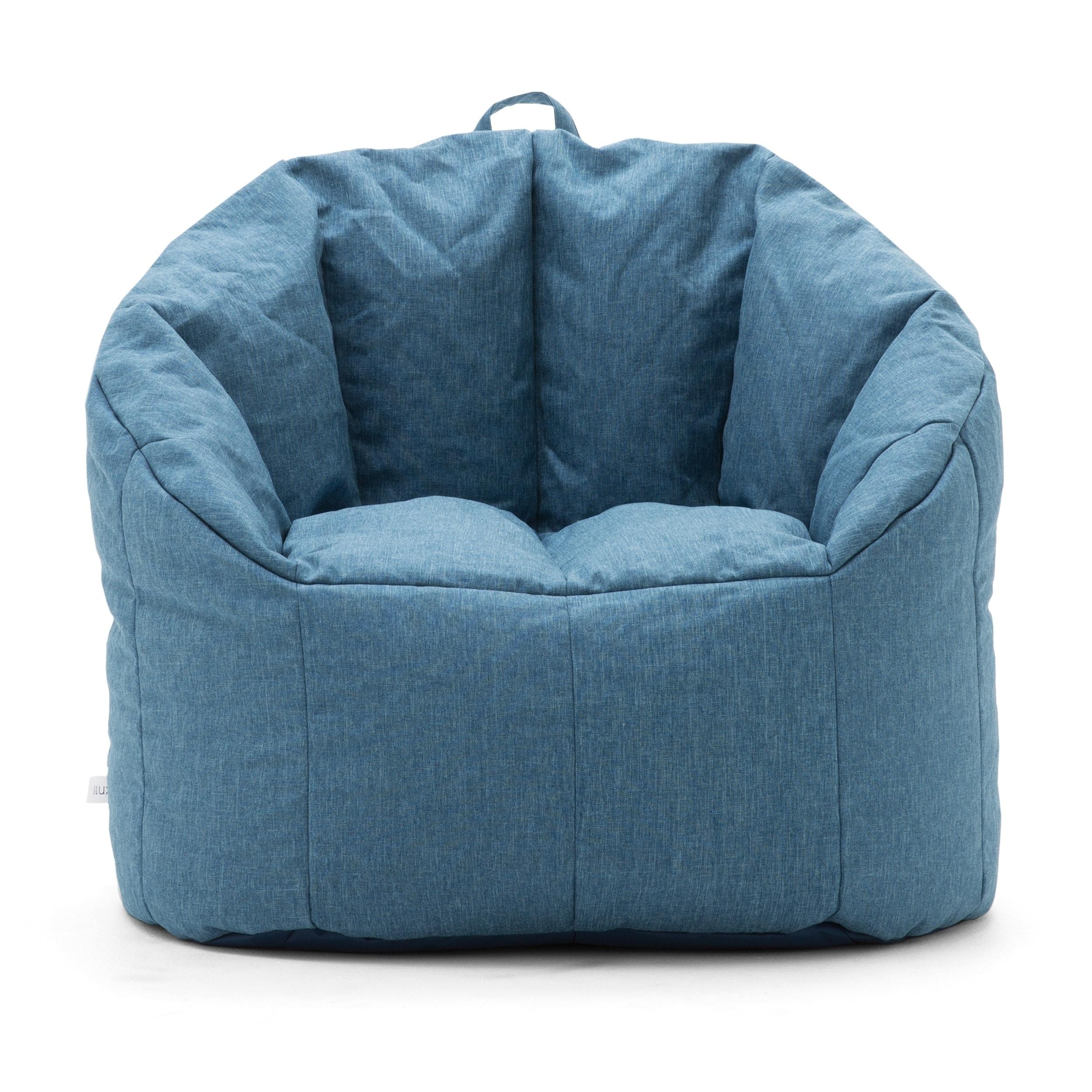 Admirable Big Joe Lux Union Milano Bean Bag Chair Multiple Colors Evergreenethics Interior Chair Design Evergreenethicsorg