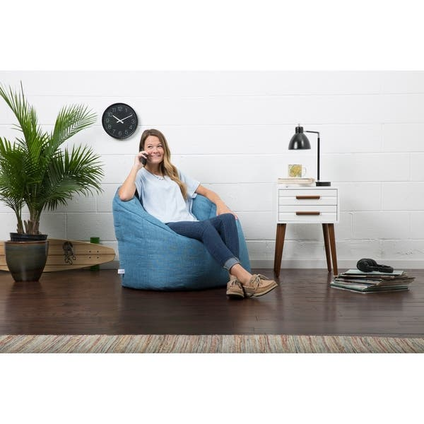 Magnificent Shop Big Joe Lux Union Milano Bean Bag Chair Multiple Ibusinesslaw Wood Chair Design Ideas Ibusinesslaworg