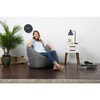 BeanSack Big Joe Lux Milano Solid-colored Polyester Bean Bag Chair|https://ak1.ostkcdn.com/images/products/12927619/P19680967.jpg?impolicy=medium