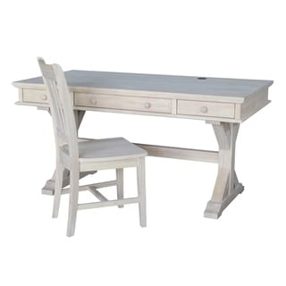 Executive Desk with Canyon Base