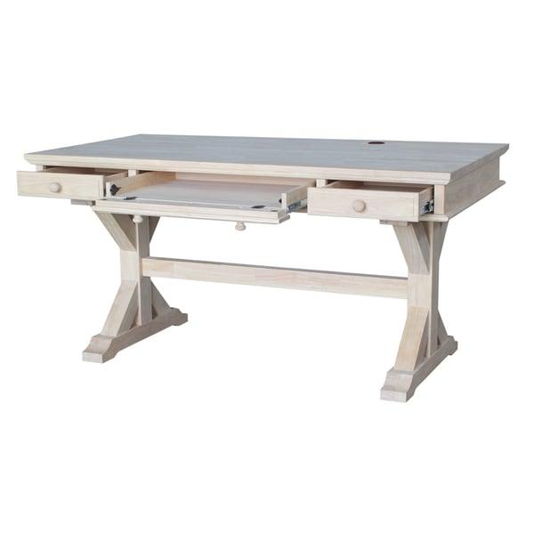 Executive Desk with Canyon Base