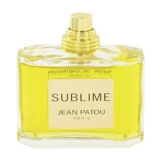 Jean Patou Sublime Women's 2.5-ounce Eau de Toilette Spray (Tester)