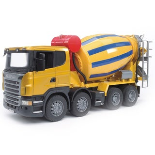 Bruder Toys SCANIA R-Series Cement Mixer Truck