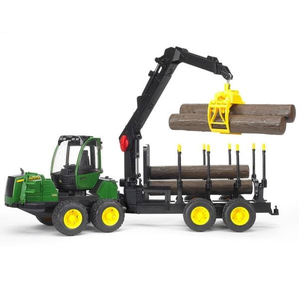 455c441798f Shop Bruder Toys John Deere 1210E Multicolor Metal Log Hauler with ...