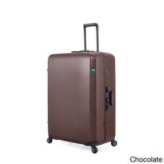 Lojel Rando Frame 30-inch Large Hardside Upright Spinner Suitcase (Option: Chocolate)